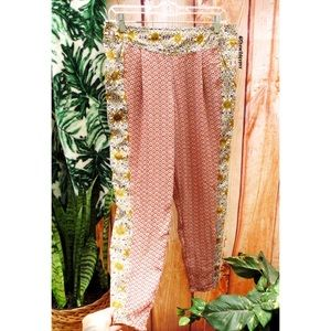 Free people floral gypsy pants 🌻
